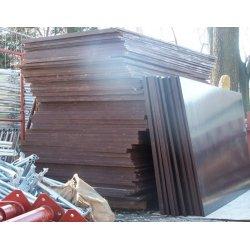 Sklejka szalunkowa 2,5x1,25x0,21m- liściasta