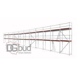Rusztowanie fasadowe plettac 192m2