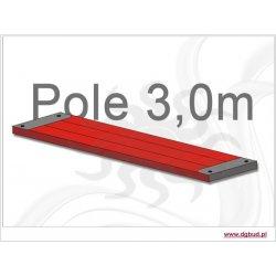 Podest drewniany 3,0m (typ plettac)