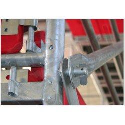 Rusztowanie typ plettac - 134m2 | Podest stalowy